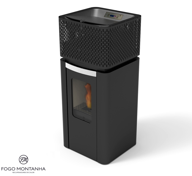 po les pellets veuillez choisir la marque du po le pellets extraflame fogo montanha. Black Bedroom Furniture Sets. Home Design Ideas